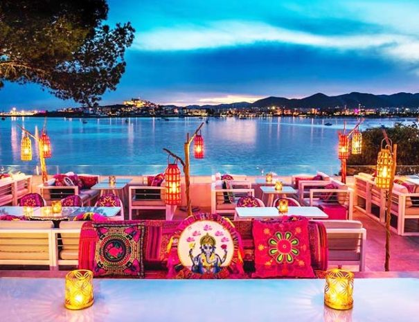 Diner de Gala vue mer à Ibiza