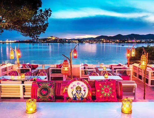 El mejor lugar con vistas al mar para su evento corporativo o cena de gala en Ibiza