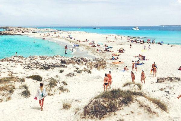 Formentera Best beach Spain