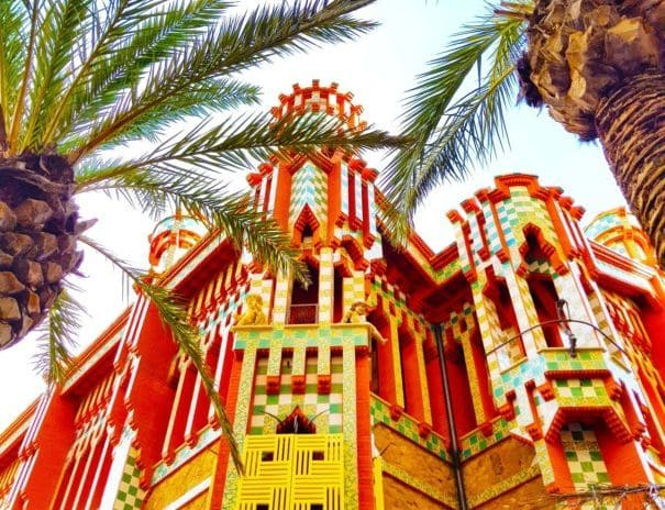 Casa Vicens as a venue for corporate events in Barcelona