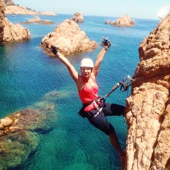 Via Ferrata en la Costa Brava en Cataluña