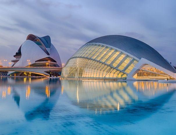 Cité des Arts et des Sciences à Valence, lieu parfait pour un séminaire en Espagne