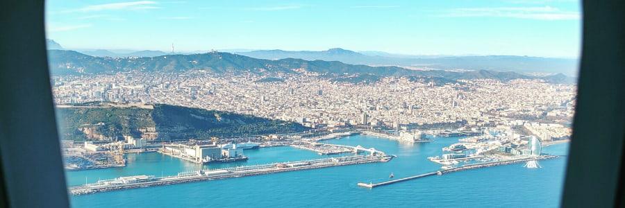 Prendre vol pour un séminaire à Barcelone