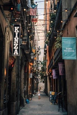 visiter vieille ville barcelone