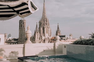 Rooftop - H10 Madison barcelona