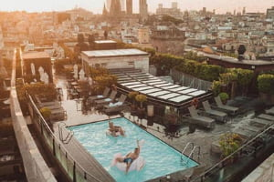 Rooftop - La Isabela barcelona
