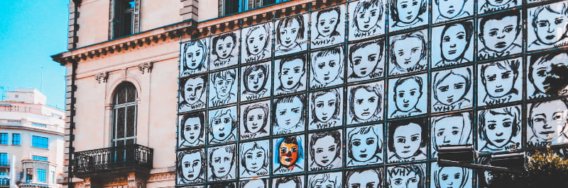 Street art tour barcelone