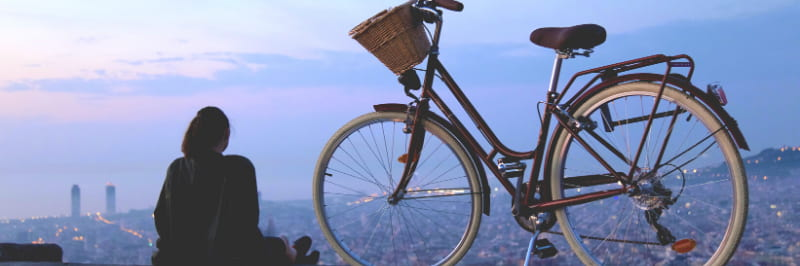 visit barcelona on a bike tour with a local