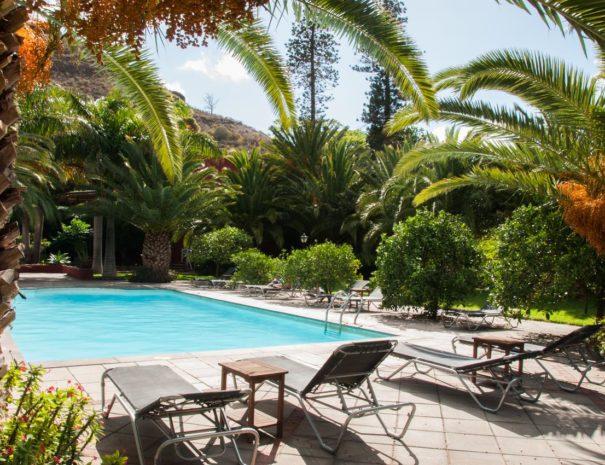 Piscine de l'hôtel rural finca Las Longueras piscine