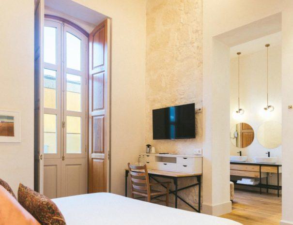 Chambre lors d'un séjour à l'hôtel Veintiuno emblematic hotel à Grande Canarie