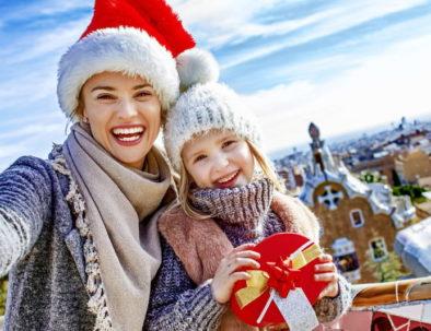 Cadeaux de Noel à Barcelone