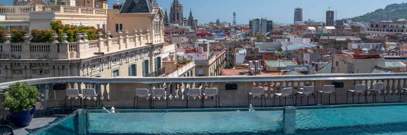 Rooftop Hotel Barcelone
