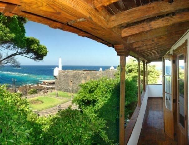 Hôtel Isla Baja Suites vue mer