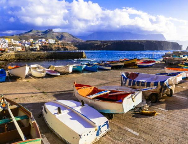 Puerto de sardina Grande Canarie