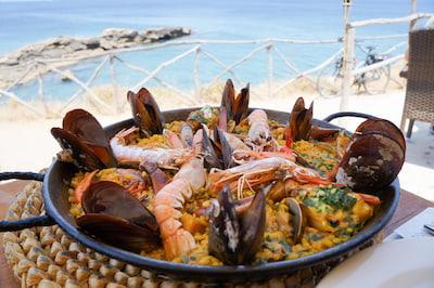 Restaurant paella majorque