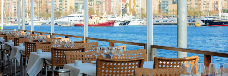 Restaurant Port vell Barcelone