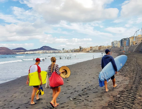 Surf plage Grande Canarie