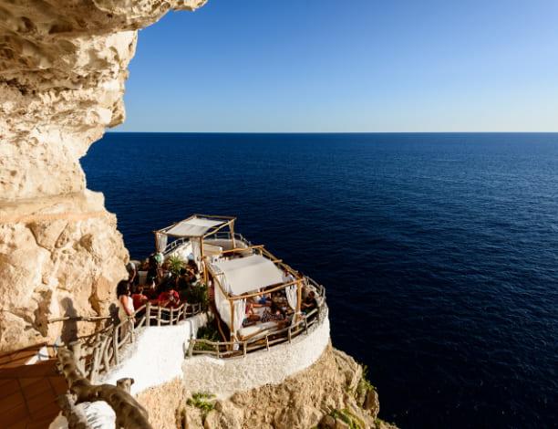 Cova d'en Xoroi Minorque