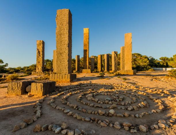 Monument Cala llentia Ibiza