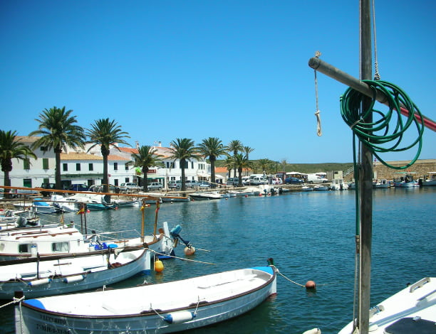 Port Fornells Minorque
