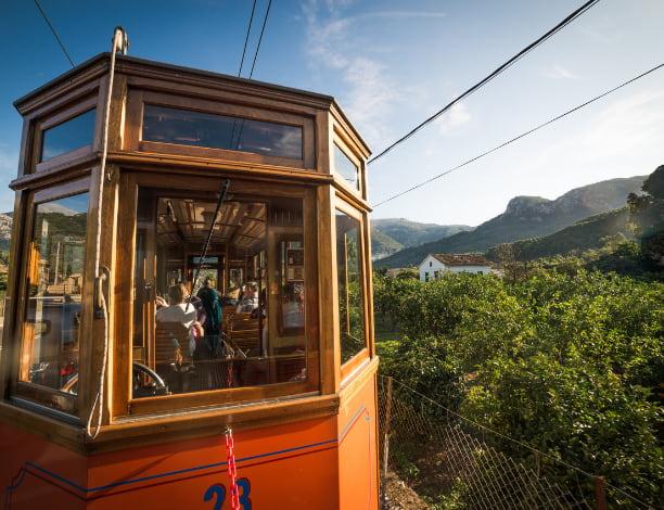 Train Port soller Majorque
