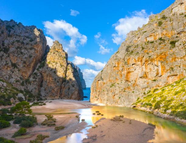 Torrent de Pareis Majorque