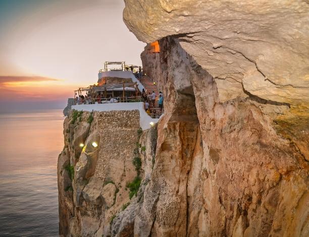 Vue Cova d'en Xoroi Minorque