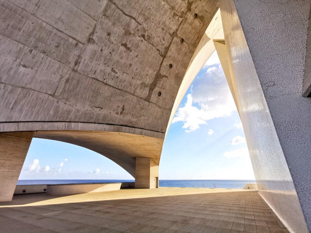 Arquitectura del Auditorio de Tenerife, Santa Cruz de Tenerife