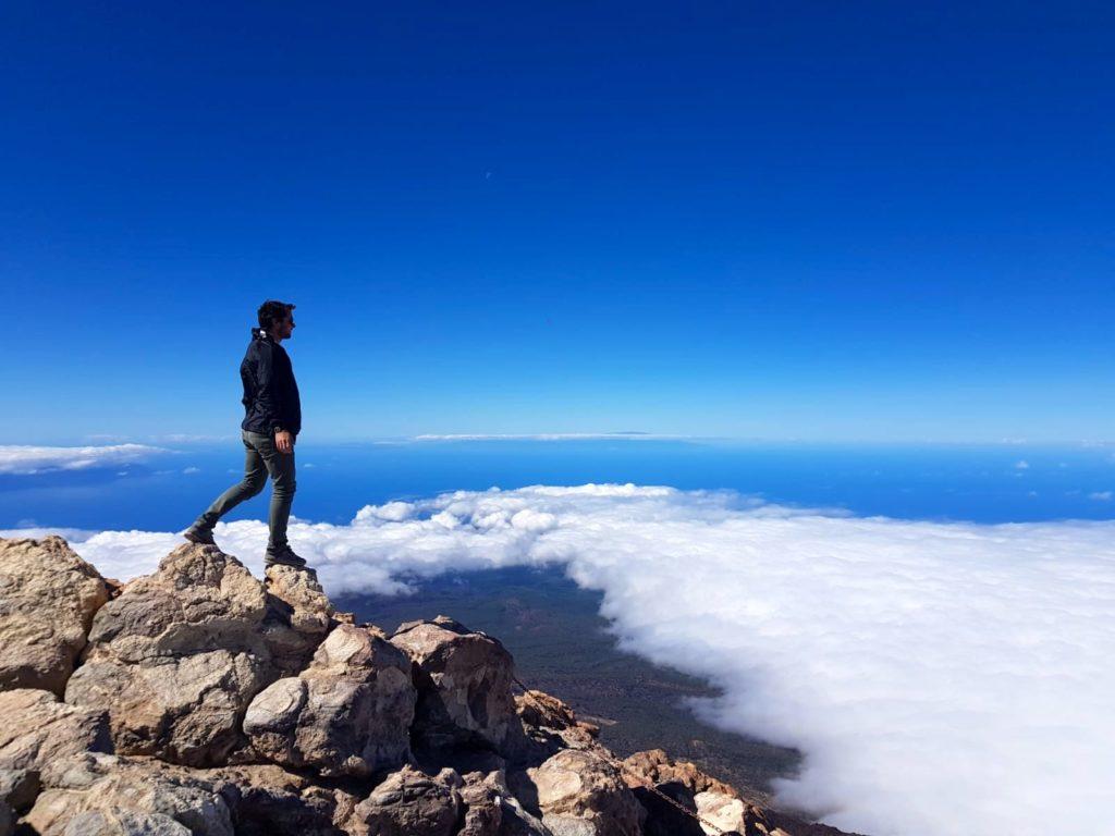 Senderismo a la cima del Teide en Tenerife