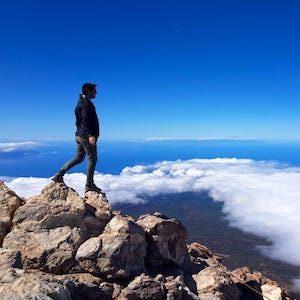 Randonnée au Teide, Tenerife