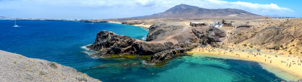 Papagayo Beach in Lanzarote