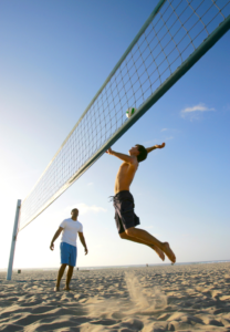 Beach Volleyball in Barcelona
