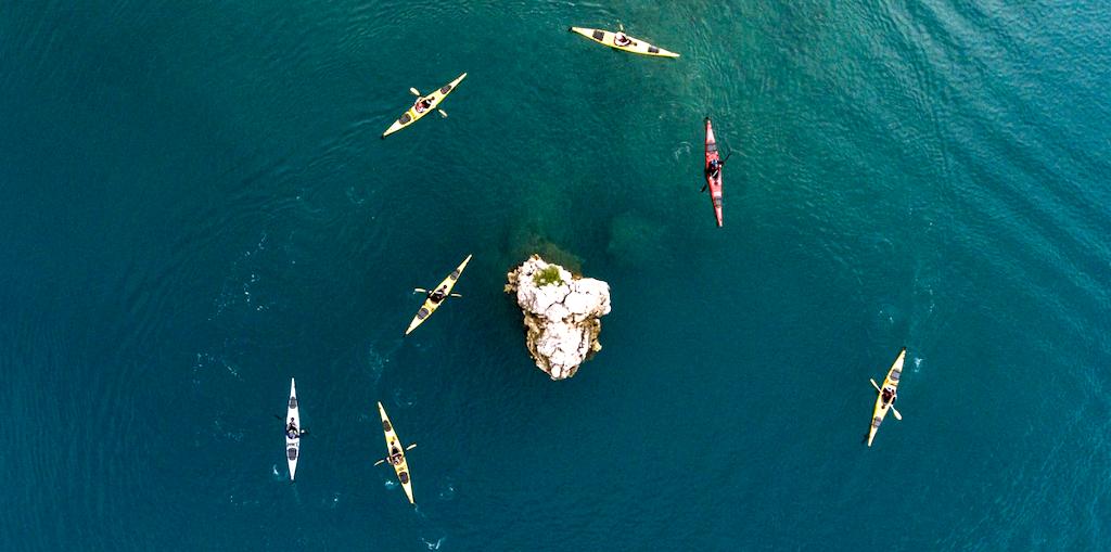 Sea kayaking, Lanzarote