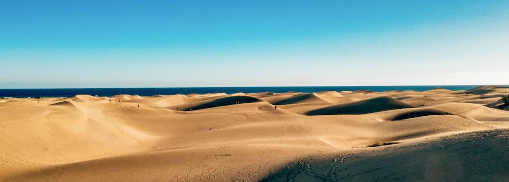 Dunas en Maspalomas, Gran Canaria