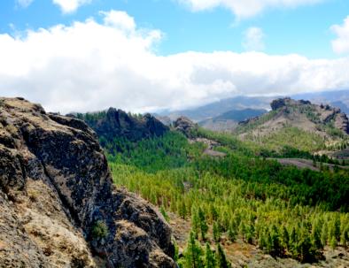 Mountainous landscape, Gran Canaria
