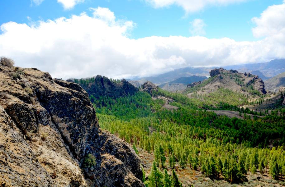 Paisaje montañoso, Gran Canaria