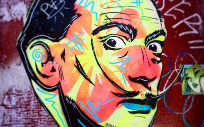 Secret Barcelona - Dali street art tour