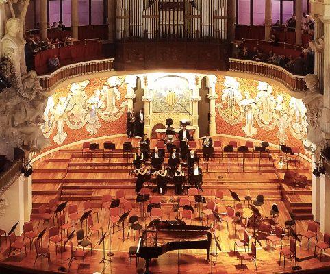 Secret Barcelona - Palau de la musica catalana concert2