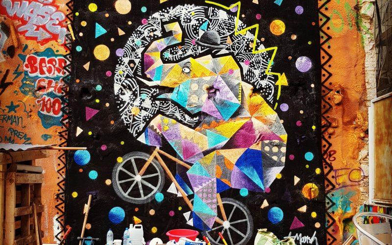 Secret Barcelona - street art T marsh