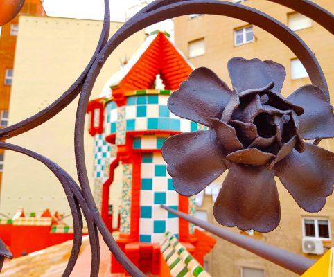 Secret barcelona - Flower from the casa vicens